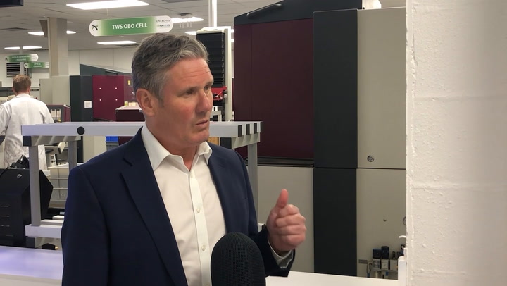 Starmer says he is fighting for every vote in Hartlepool by-election