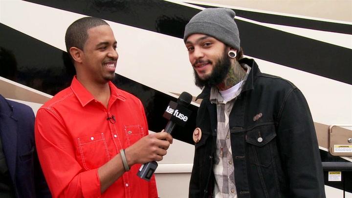 Travie McCoy on His Striking Resemblance to NBA Star Joakim Noah