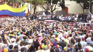 Guaidó llama a marcha