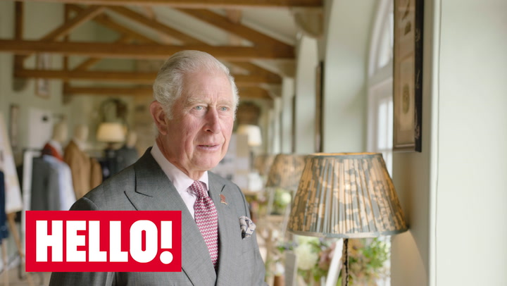 Prince Charles launches luxury Net A Porter fashion collection