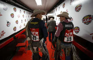 2017 National Finals Rodeo eighth go-round results