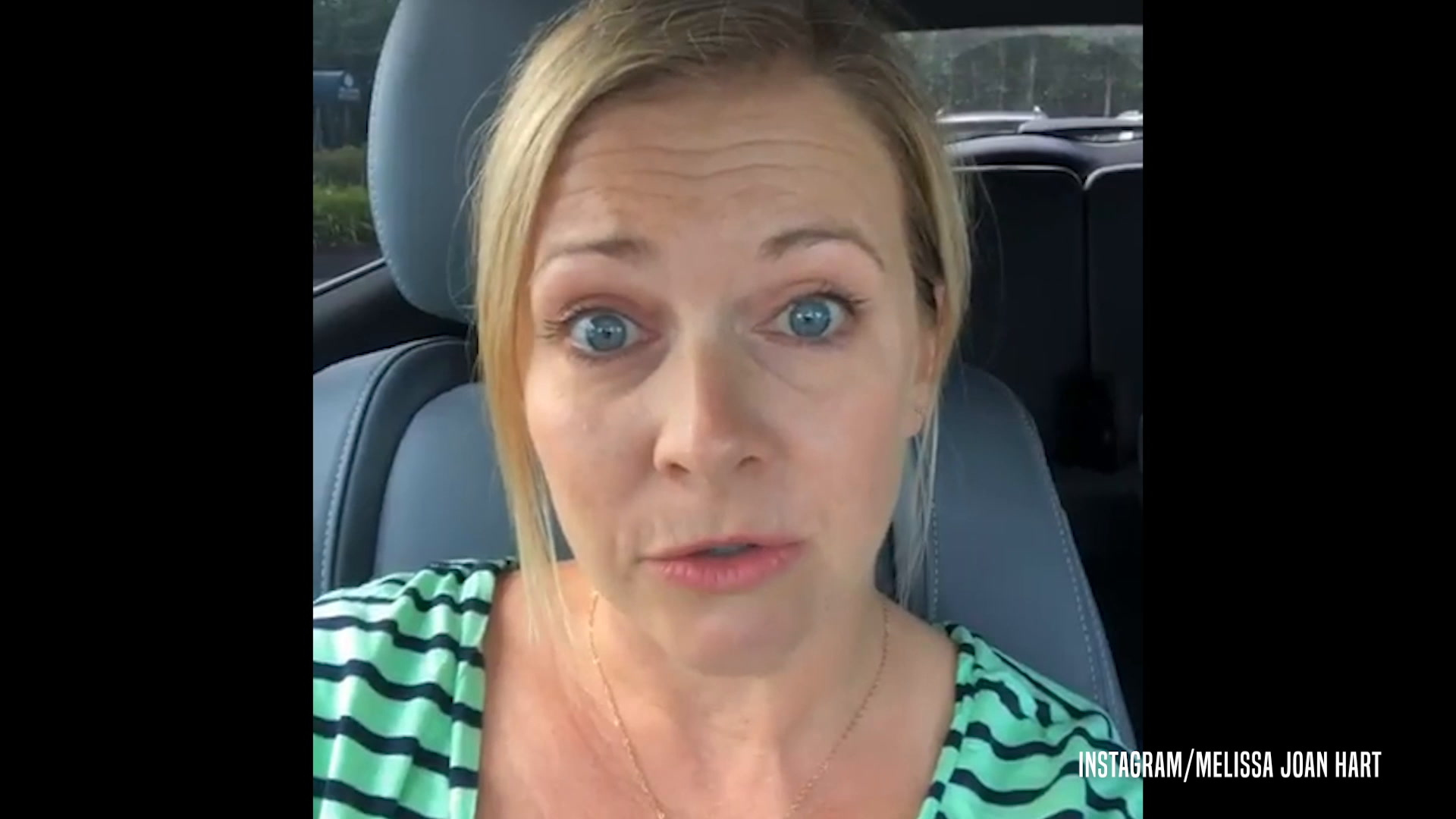 Melissa Joan Hart Gets Emotional About Recent Health Scare