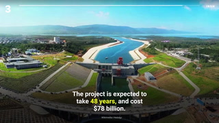 The top 9 megaprojects being built right now