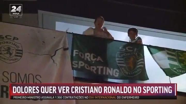 La madre de Cristiano desea que su hijo regrese al Sporting de Portugal
