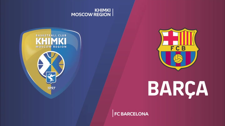 Euroliga: Resumen del Khimki  - FC Barcelona