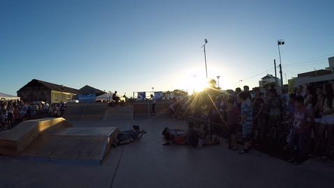 Chajarí estrenó el skatepark que construyeron en la Estación Urbana
