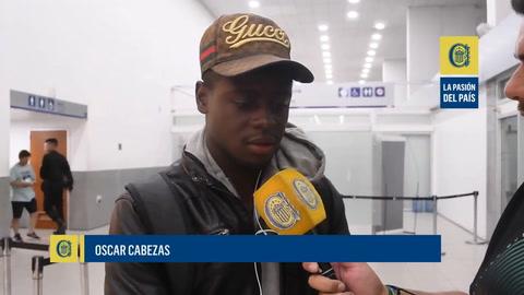 Oscar Cabezas, el segundo refuerzo de Central, pasó la revisión médica