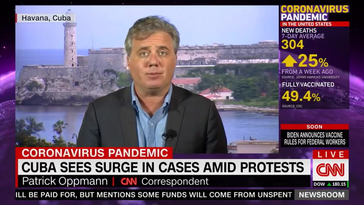 CNN's Oppmann: COVID Is Surging in Cuba and 'It Does Not Help' That There Have Been Protests