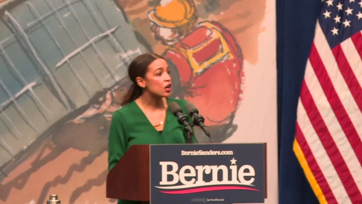 Ocasio-Cortez: Exxon Mobil 'knew exactly what it was doing'