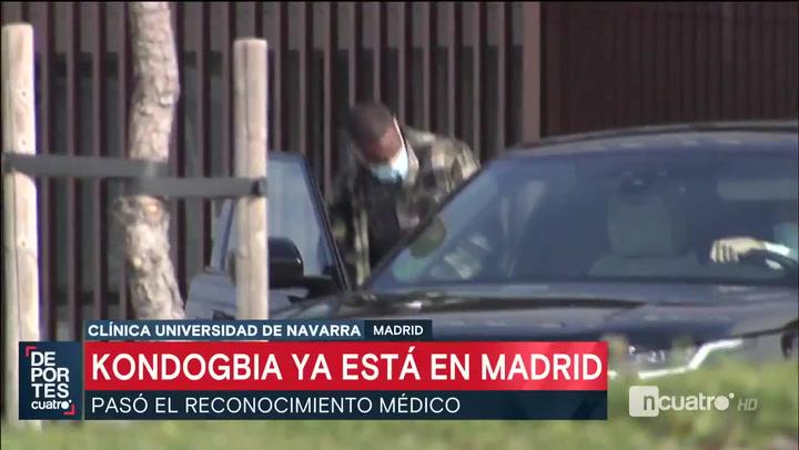 Kondgobia 'pillado' en Madrid