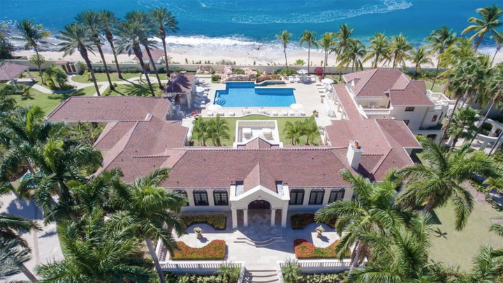 Peek Inside President Trump's $28M Caribbean Palace for Sale