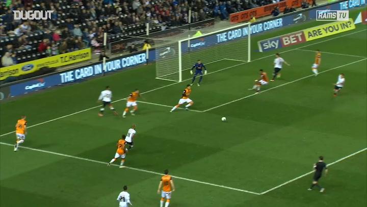 Tom Ince expertly assists Bradley Johnson vs Hull City