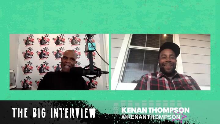 Kenan Thompson Talks His Infamous Steve Harvey Impressions