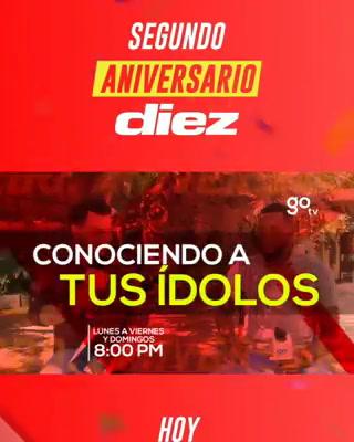 ¡Feliz aniversario! DIEZ TV cumple dos años y entre 2020 va por mucho más