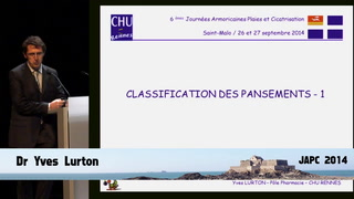 Classification du pansement - partie 1