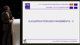 Classification du pansement - partie 2