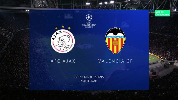 Champions League Resumen y Goles del Ajax-Valencia