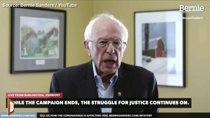 Bernie Sanders Tries to Ease Supporters: 'The Struggle Continues'