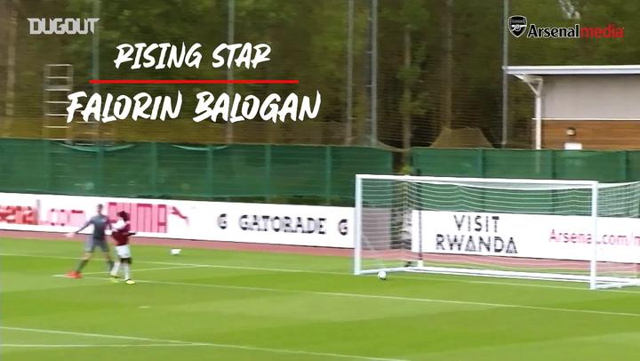Rising star: Folarin Balogun