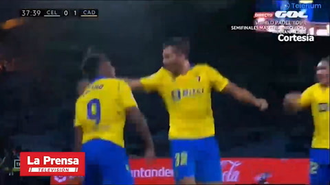 'Choco' Lozano se luce con un gol y provoca un penal, pero sale lesionado ante Celta de Vigo