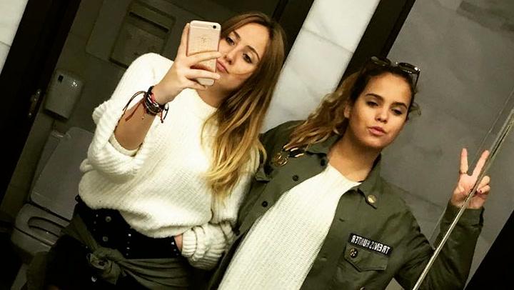 Los mimos de Gloria Camila a Rocío Flores durante su estancia en Madrid