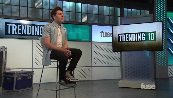 Shows: Trending 10: Hoodie Allen Interview (10/14/14)