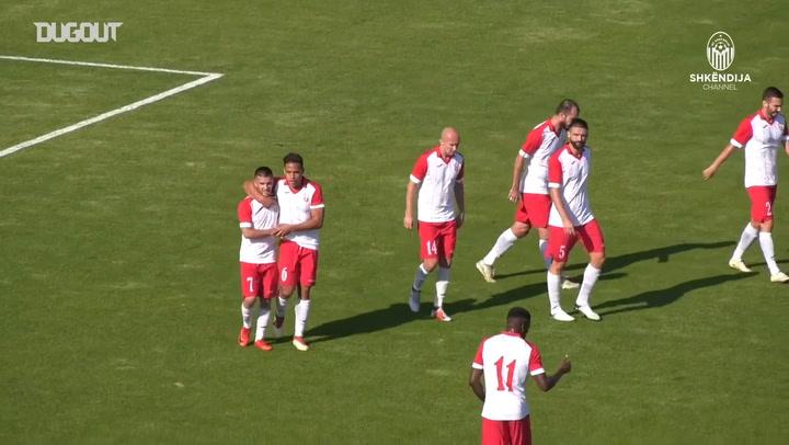 KF Shkëndija hit six past FK Rabotnički