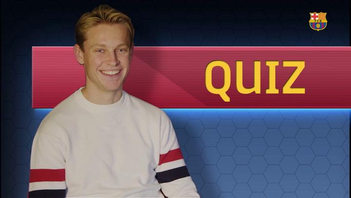 Cillessen pone a prueba a De Jong: ¿cuánto sabe de Barcelona?