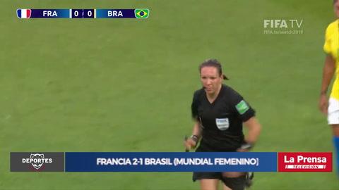 Francia 2-1 Brasil (Mundial femenino)