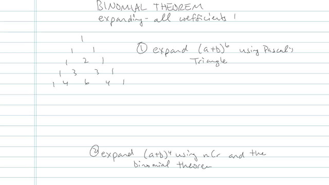 Binomial Theorem - Problem 4