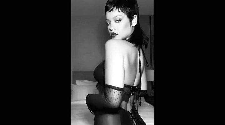 El sensual baile en ropa interior de Rihanna incendia Instagram