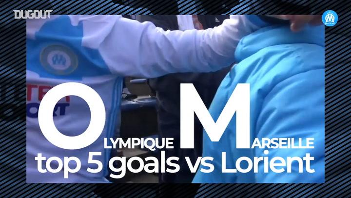 OM's top five goals vs Lorient