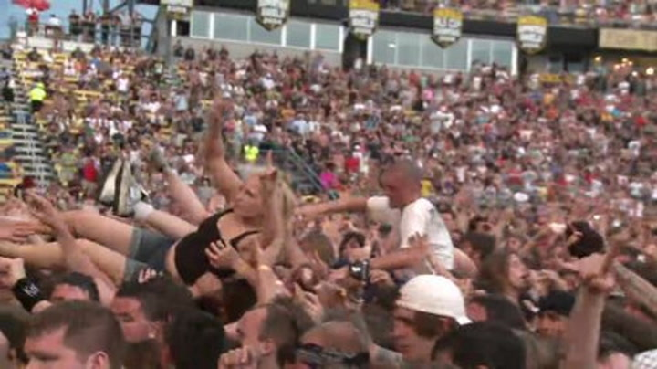 Rock On The Range 2011 : Jonathan Davis Of Korn