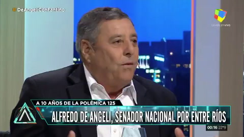 De Angeli: Cristina nos trataba de golpistas, le hizo daño al pueblo