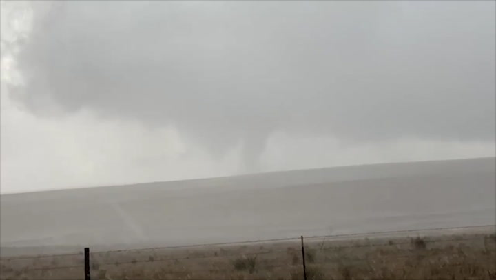 Tornado spotted in the Texas panhandle