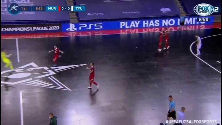 Resumen de la semifinal ElPozo Murcia - Tyumen de la UEFA Futsal Champions League