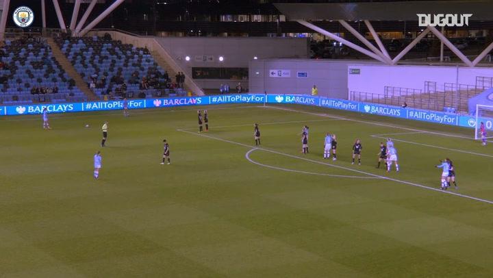 Gemma Bonner gives Manchester City Women the win over Bristol City