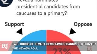 Nevada Poll: caucus vs. primary – VIDEO