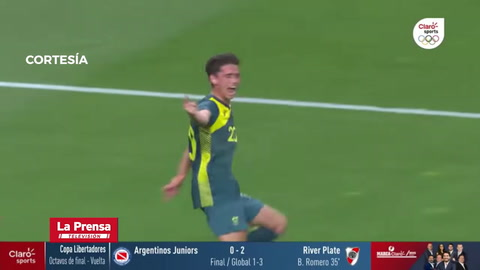 Argentina 0 - 2 Australia (Juegos OIimpicos Tokio 2020)