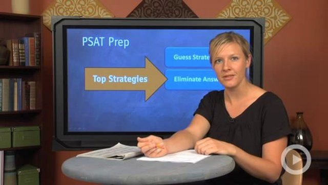 PSAT Test Taking Strategies