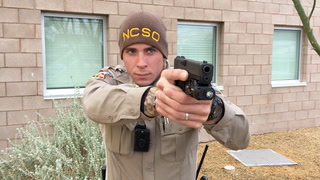 Nye County Sheriff's Office testing weapon mounted cameras