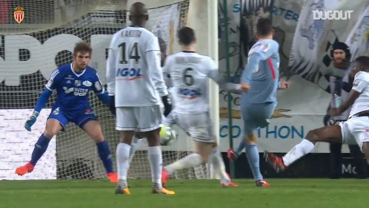 All AS Monaco goals vs Amiens in Ligue 1