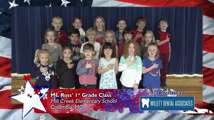 Mill Creek Elementary - Ms. Ross - 1st Grade