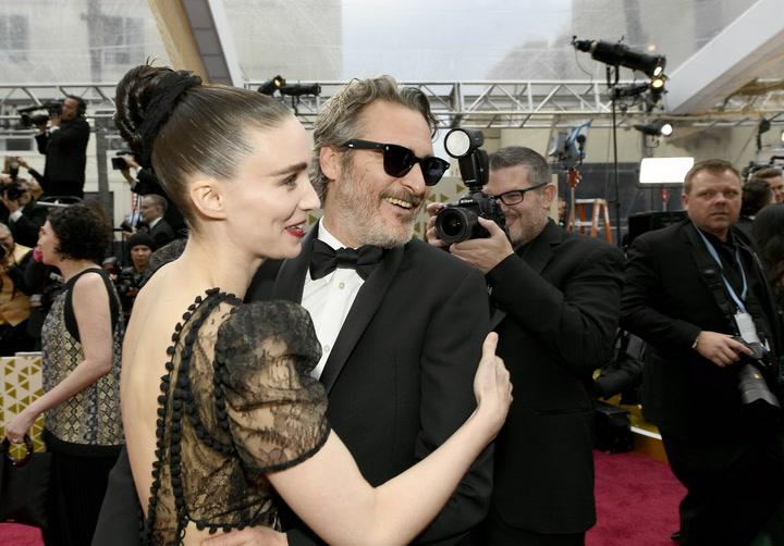 Oscars 2020: las parejas más cariñosas de la noche