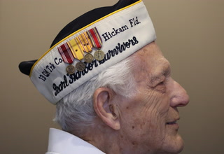 Pearl Harbor survivor Edward Hall talks about his memories of Dec. 7, 1941