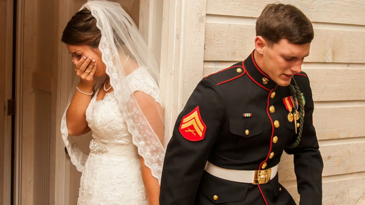 Image: Bryllupsbildet gikk viralt