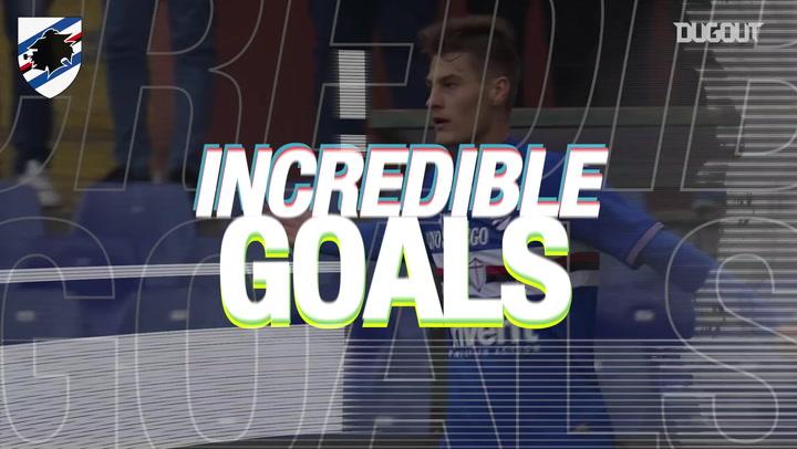 Incredible Goal: Patrik Schick Vs FC Crotone