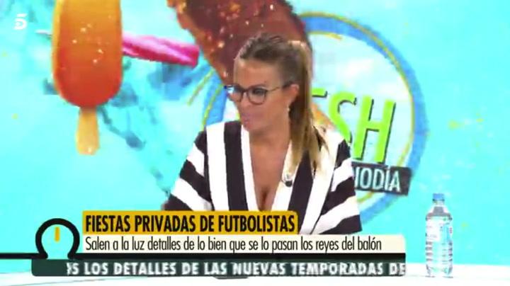 """Marta López desvela una relación con un futbolista """"que no se ha dicho"""""""