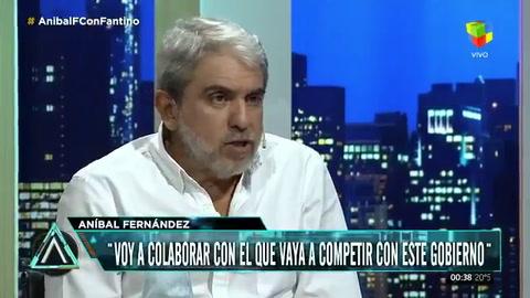 Aníbal Fernández: Máximo Kirchner no entiende nada de política