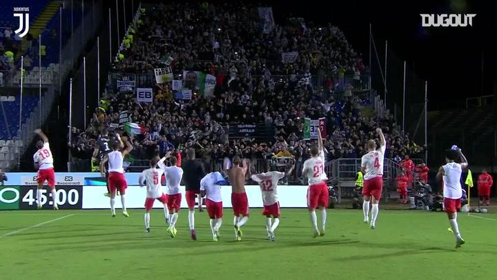 La Juventus FC completa una remontada de carácter ante el Brescia